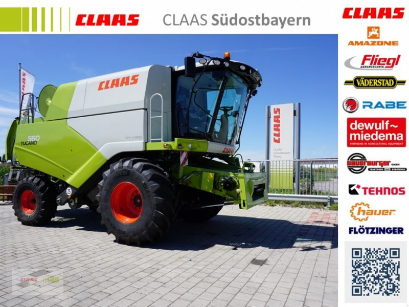 Bild CLAAS Tucano 560 BUSINESS - TIER 4F